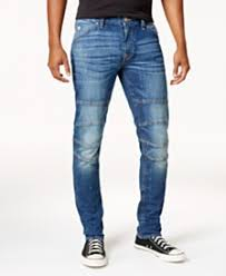 moto jeans mens. guess men\u0027s slim-fit tapered stretch destroyed moto jeans mens l