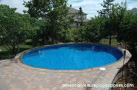 sunken above ground swimming pools. Delighful Swimming American Leisure Pool Supplies  Sales U0026 Service In Chicago Illinois On Sunken Above Ground Swimming Pools