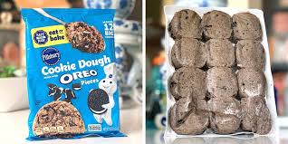 All cookie dough should have a safer formula by later this year. Pillsbury Now Makes Cookie Dough That S Mixed With Actual Oreo Pieces