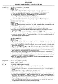 Product Manager Resume Sample Product Manager Resume Samples Velvet Jobs 19