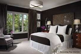 Chocolate brown and white bedroom - contemporary - bedroom - portland -  Ragan Corliss