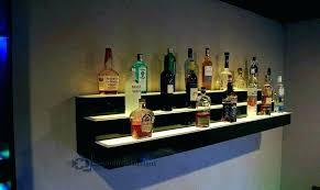 hanging bar shelf shelf with hanger bar info diy wall mounted bar wall mounted bar shelves