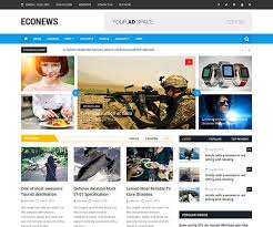 Newspaper Html Template Econews Responsive Bootstrap Newspaper Template Ecology Theme