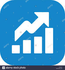 Growth Vector Icon Sign Icon Vector Illustration For