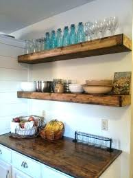 thick floating shelves thick reclaimed wood floating shelves in the kitchen love wall shelf chunky r build some chunky floating shelves thick floating