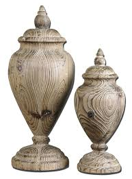 large wooden finials made from carved solid wood these finials feature a natural wood tone finish large wooden