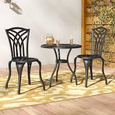 andover mills oconnor 3 piece outdoor bistro set reviews wayfair ca