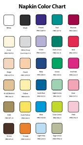 Napkin Size Chart Custom Printed Food Packaging Napkins Gator Paper