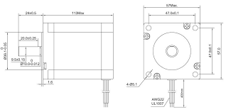 3 axis cnc kit 3nm(425oz in) nema 23 stepper motor & m542t driver stepper motor wiring color code at Nema 23 Stepper Motor Wiring Diagram