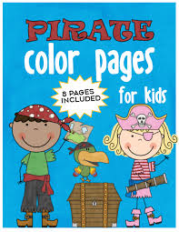 William kid was a scottish sailor remembered for his trial and execution for piracy after returning from. Pirate Color Pages For Kids