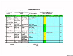 Attractive Risk Analysis Template Motif - Administrative Officer ...