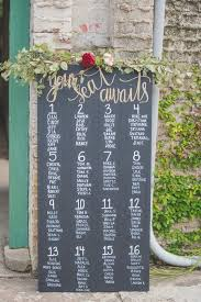 Blackboard Seating Chart Chalkboard Wedding Seating Chart Idea Chalkboard Seating