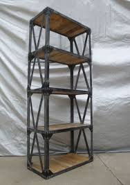 industrial furniture vintage. solid wood and metal bookshelf vintage industrial bookcase buy bookcasebookshelfvintage product on alibabacom furniture
