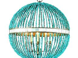 chandeliers turquoise beaded chandelier in plans for