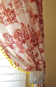 Yellow And Red Kitchen Curtains 25 Best Ideas About Red Curtains On Pinterest Red Accent
