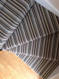 Striped stair carpet on corner. | Old House Modern Estate | Pinterest | Striped  carpet stairs, Striped carpets and Stair carpet