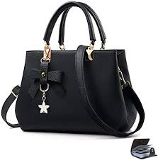 URAQT <b>Womens</b> Handbags Shoulder <b>Bags</b>, PU <b>Leather Ladies</b> ...