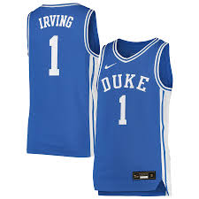 It is fun to make fun of players we don't like, but there is a line. Youth Nike Kyrie Irving Royal Duke Blue Devils Replica Basketball Jersey