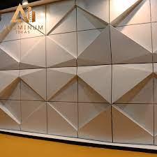 china customized pvdf aluminum cladding