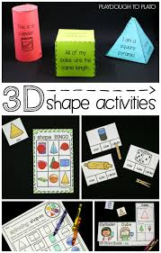 fun 3d shape activities for kids build the shapes play bingo make interactive books play spin and color game tons of fun ideas for kindergarten