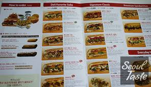 Quiznos Restaurant Reviews Recommendations By Seoul Taste