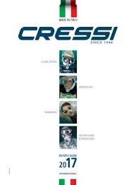 Cressi Catalogue 2017 By Shark Fin Issuu