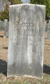 Susanna Morton Barrows (1781-1860) - Find A Grave Memorial