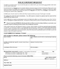 Incident Report Template Microsoft Word Best Police Report Template 48 Free Word PDF Documents Download Free