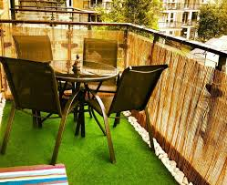 apartment patio fence landscaping gardening ideas