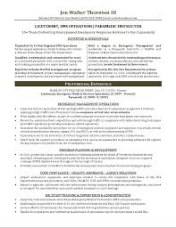 Emergency Management Resume Templates Best of Paramedic Resume Template Best Cover Letter
