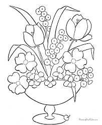 Small Picture Amazing Printable Flower Coloring Pages Top Co 2280 Unknown