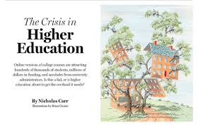 the crisis in higher education higher education college and  the crisis in higher education higher education college and students