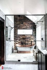 interior design home ideas a rustic and modern bathroom modern