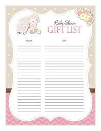 baby shower spreadsheet baby shower guest list printable tirevi fontanacountryinn com