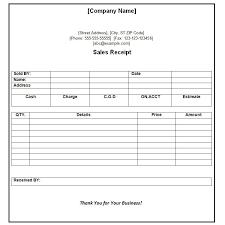 Fees Receipt Format