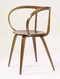 contemporary dining chairs brown wooden varnished glossy contemporary dining chairs with arc curved arms