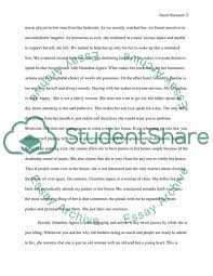 Essay Of Comparison And Contrast Examples Comparison Contrast Between Two Different Grandparents Essay