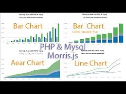 Morris Js Charts Example How To Create Charts And Graphs Using Mysql Php Morris Js Tutorial