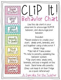 Clip Chart Behavior Management System