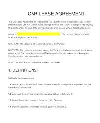 Deposit Templates Auto Lease Agreement Lovely Car Templates New Rental Deposit