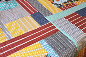 Joining Quilt Blocks: Quilt As You Go & Bold, Patterned Quilt - Quilt as You Go on craftsy.com Adamdwight.com