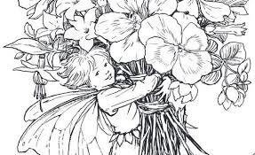 ダウンロード ぬり絵 花の妖精たち フラワーフェアリーズ