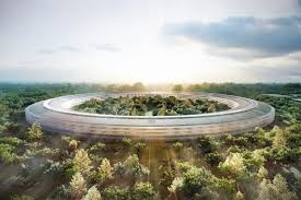 apple new office design. Just A Few Months Before His Death In 2011, Steve Jobs Announced Plans To Build New Corporate Campus For Apple Cupertino City, California. Office Design