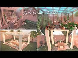bloxburg sd build boho garden