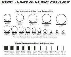 Piercing Gauge Size Chart Septum Piercing