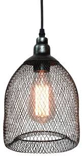 metal pendant lighting fixtures. pendant lamp with metal mesh and wire shade industrialpendantlighting lighting fixtures n