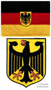 germany coat of arm 2. Beautiful Arm Image Is Loading LOTof2GERMANFLAGPATCHEAGLEEMBROIDERED For Germany Coat Of Arm 2