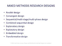 Convergent Design Mixed Methods Mixed Methods Research Ppt Download