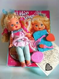 little miss make up i got this doll for my 7th birthday not this exact one lol