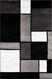 lorenzo gray black area rug reviews allmodern within rugs remodel 2